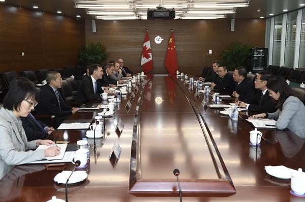 中国海洋石油集团有限公司 要闻 杨华会见加拿大联邦